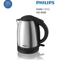 ELECTRIC KETTLE HD9306 PHILIPS HD KETLE TEKO PEMANAS CERET AIR LISTRIK