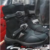 Sepatu Touring Motor Forma Adventure Low Brown Original Waterproof