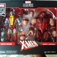 Marvel Legends Colossus vs Juggernaut 80th Anniversary 80 Years X-Men
