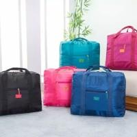 FOLDABLE TRAVEL BAG - HAND CARRY TAS LIPAT KOPER LUGGAGE ORGANIZER