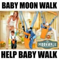 Baby Walker / Baby Moon Walk / Alat Bantu Jalan Untuk Bayi dan Balita