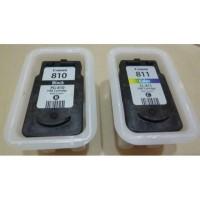 Cartridge Catridge Catrid Tinta Isi Recycle Canon PG 810 CL 811 Murah
