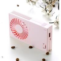 Remax 2 in 1 Fan & Powerbank 5000mAh Kipas Angin + Power Bank 5000 mAh