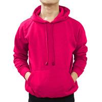Jaket Sweater Polos Hoodie Jumper Pink