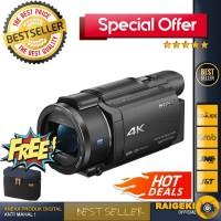 Sony FDR-AX53 4K Ultra HD Handycam Camcorder Free Bag