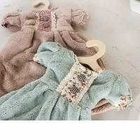 Handuk Lap Tangan Impor Korea Hand Towel Toilet Wastafel model Dress