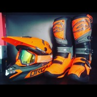 paket helm orca rsv+boots ahrs fhx+goggle snd motocross/trabas/sumo