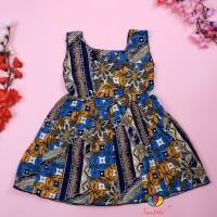 Dress Marsha Uk Bayi 6-18 Bulan / Dress Batik Baju Anak Balita Cewek