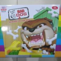 Mainan Anak Bad Dog Anjing Bulldog WS5319 dengan Tulang tulang