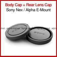 Tutup Body Rear Cap Belakang Lensa Kamera Sony E-mount Nex 5 Alpha a7