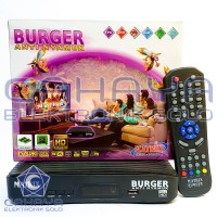 Receiver HD Matrix Burger Anti Nyamuk Pengusir Sonic C Ku band FTA
