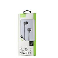 HEADSET ROBOT RE240 ORIGINAL HANDSFREE AUDIO EARPHONE WIRED EARPODS
