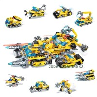 Lego Qman Enlighten Legend Of Chariot 1408 (isi 8 macam) Konstruksi