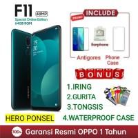 OPPO F11 RAM 4/64 GB GARANSI RESMI OPPO INDONESIA