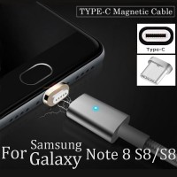 Kabel Charger Magnetik Tipe C Fast Charging untuk Samsung Galaxy Note