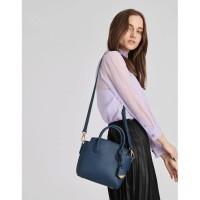 SAG6116 BLuE Chalres & Keith Classic Top Handle Hand Bag
