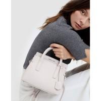 SAG6150 PiNK Charles & Keith Classic Top Handle Bag