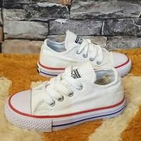 sepatu anak converse kids putih bis merah tali converse kids