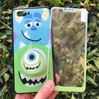MONSTER INC 3in1 case redmi 5a free tempered glass popsocket