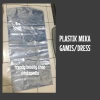 HOT SALE Plastik Mika Tebal Pembungkus Dress/Gamis 55cm x 130 cm