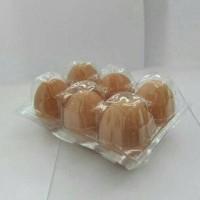 HOT SALE Mika telur egg tray plastik isi 6 butir terjamin