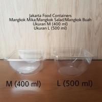 HOT SALE Mangkok Mika/Mangkok Salad/Mangkok Plastik Ukuran L (500 ml)