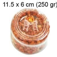 HOT SALE 250 gr hardtop toples plastik mika kue kering bulat polos