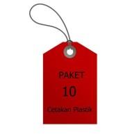 HOT SALE Paket 10 Pcs Cetakan Plastik Mika Lokal terjamin