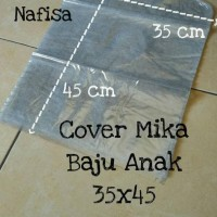 HOT SALE Mika Baju Anak 35x45 Plastik Cover Pelindung Pakaian terjamin
