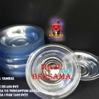 HOT SALE PIRING PLASTIK SAUS / SAOS SAMBAL BENING @ 600 PCS MIKA