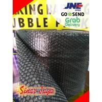Bubble Wrap Hitam/Black di Pekanbaru
