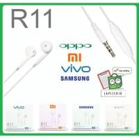 Handsfree Headset Earphone Hp Oppo Xiaomi Vivo Samsung murah