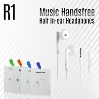 Earphone R1 Samsung Vivo Xiaomi Oppo Handsfree Headset Stereo murah