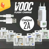 Charger VOOC Flash Charge 2A Asus Oppo Samsung Vivo Xiami murah