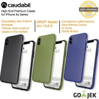 Case iPhone X - Original Caudabe Sheath Premium Casing