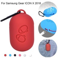 Silicone Case Softcase for Samsung Gear IconX Icon X 2018 with Hook