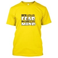 """Kaos Gildan Softstyle """"Fear Only Exist in Your Mind"""" - M"""