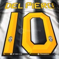 [NAMESET] JUVENTUS JERSEY HOME 2010 / 2011 / 2012 DEL PIERO REMAKE ORI