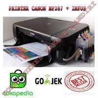 PROMO PRINTER CANON MP287 + INFUS