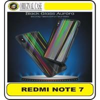 XIAOMI /XIOMI REDMI NOTE 7 / 7 PRO UME AURORA TEMPERED GLASS HARDCASE