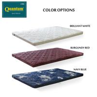 Topper Kasur Spring Bed Merk Quantum 120x200 (Bahan Busa Bukan Latex)