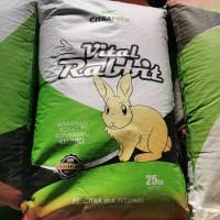 Pakan Kelinci Rabbit Pelet / Citra Feed Rabbit / Makanan Kelinci 25 Kg