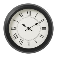 IKNufra Jam Dinding Dekorasi Angka Romawi 25Cm Wall Clock