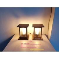 L1063 Lampu pilar taman hias pagar waterproof e27 outdoor anti hujan