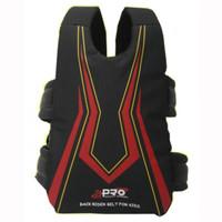 Sabuk Bonceng Motor Apro Safety Belt untuk Anak - Hitam Stripe