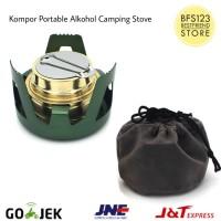 Kompor Portable Alkohol Spirtus Camping Masak Outdoor