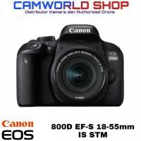 CANON EOS 800D EF-S 18-55 IS STM / KAMERA DSLR 800D KIT