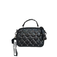 Catriona Lorry studded sling bag - BLACK