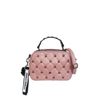 Catriona Lorry studded sling bag - PINK