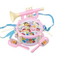 mini drum set anak / mainan alat musik bayi